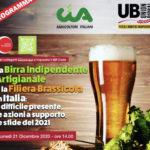 Birra indipendente artigianale e filiera brassicola in Italia. Webinar Cia-Unionbirrai!