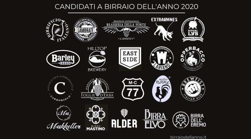 Birraio dell'Anno 2020: svelati i candidati!