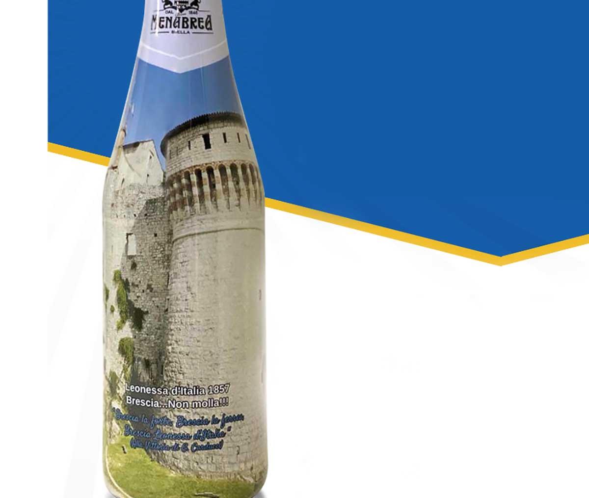 Menabrea celebra la Leonessa d'Italia con una birra speciale in edizione limitata