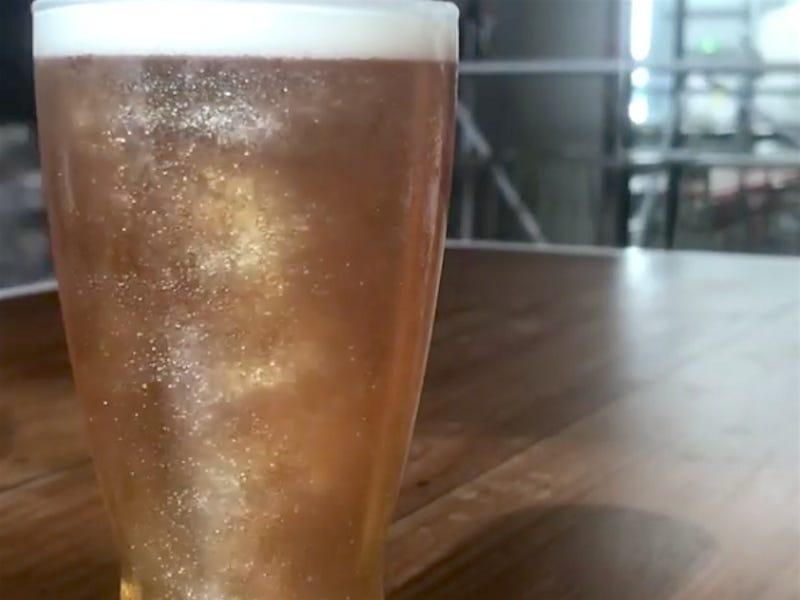 La prima birra glitterata Made in Italy