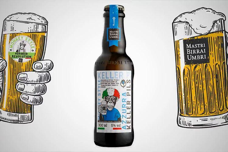 In Umbria nasce la birra 'Azzurra', la Keller Pils «per brindare alle vittorie degli azzurri in tutti gli sport»