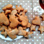 Cookies con tre tipi di farine e birra