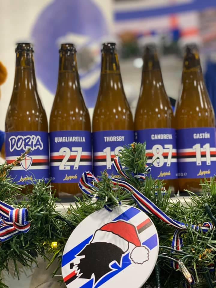 """Nasce """"Doria"""", la birra blucerchiata"""