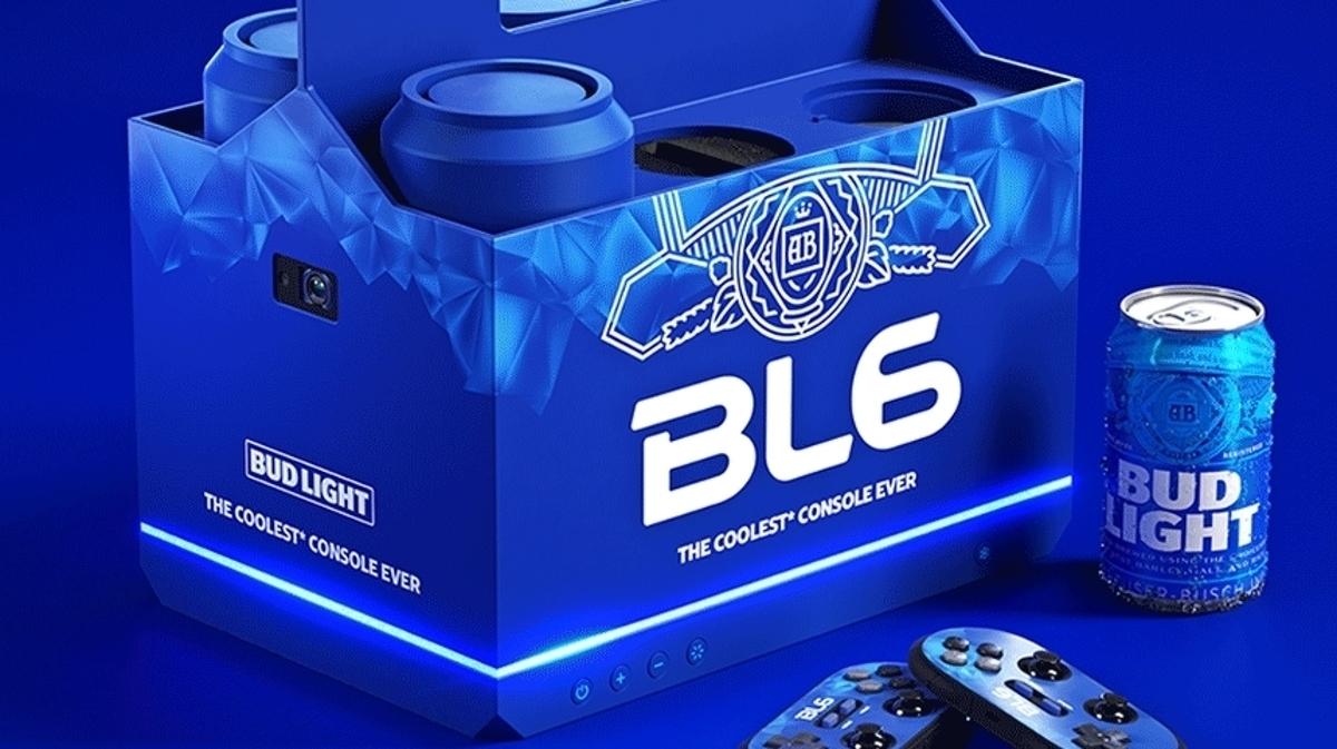 BL6: il computer che rinfresca birre in asta di beneficienza