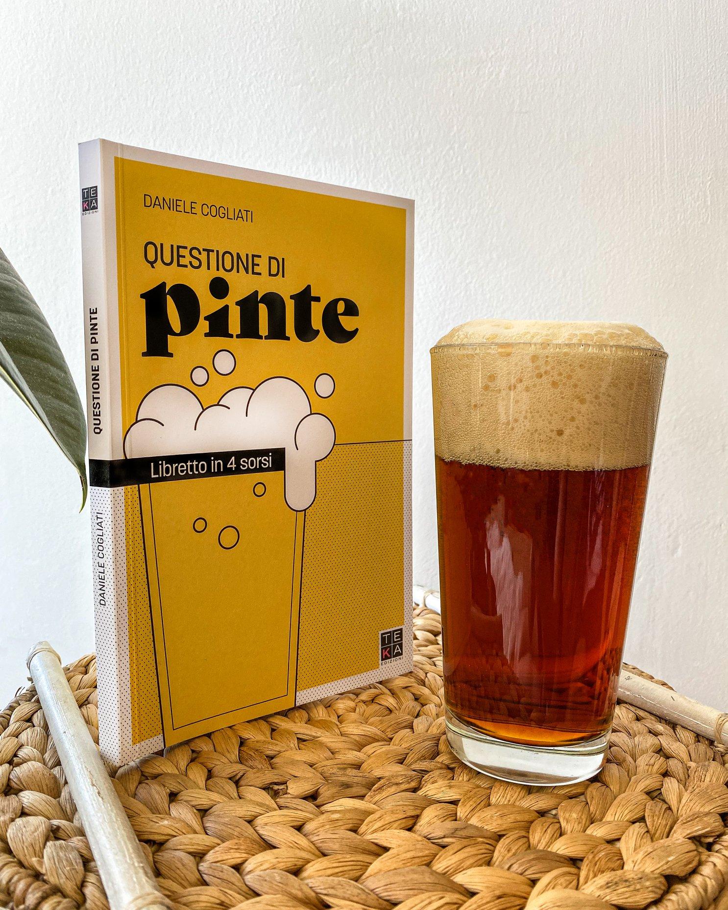 """Intervista a Daniele Cogliati, autore del libro, """" Questioni di Pinte, Libretto in 4 sorsi, nonché giudice di birra"""