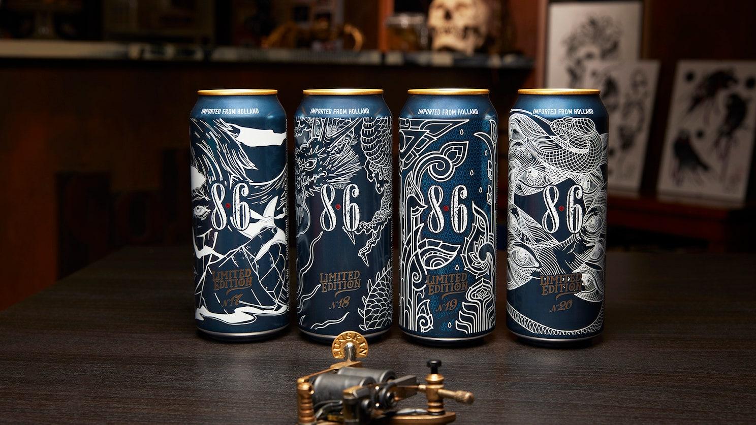 La birra tatuata ad arte: da gustare e collezionare