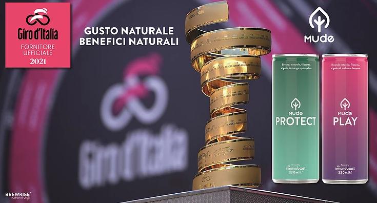 Mude fornitore ufficiale dell'edizione 2021 del Giro d'Italia