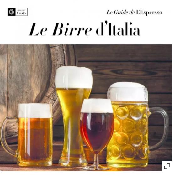 """Le Birre d'Italia"""", dal campo al bicchiere, le eccellenze raccontate da L'Espresso"""
