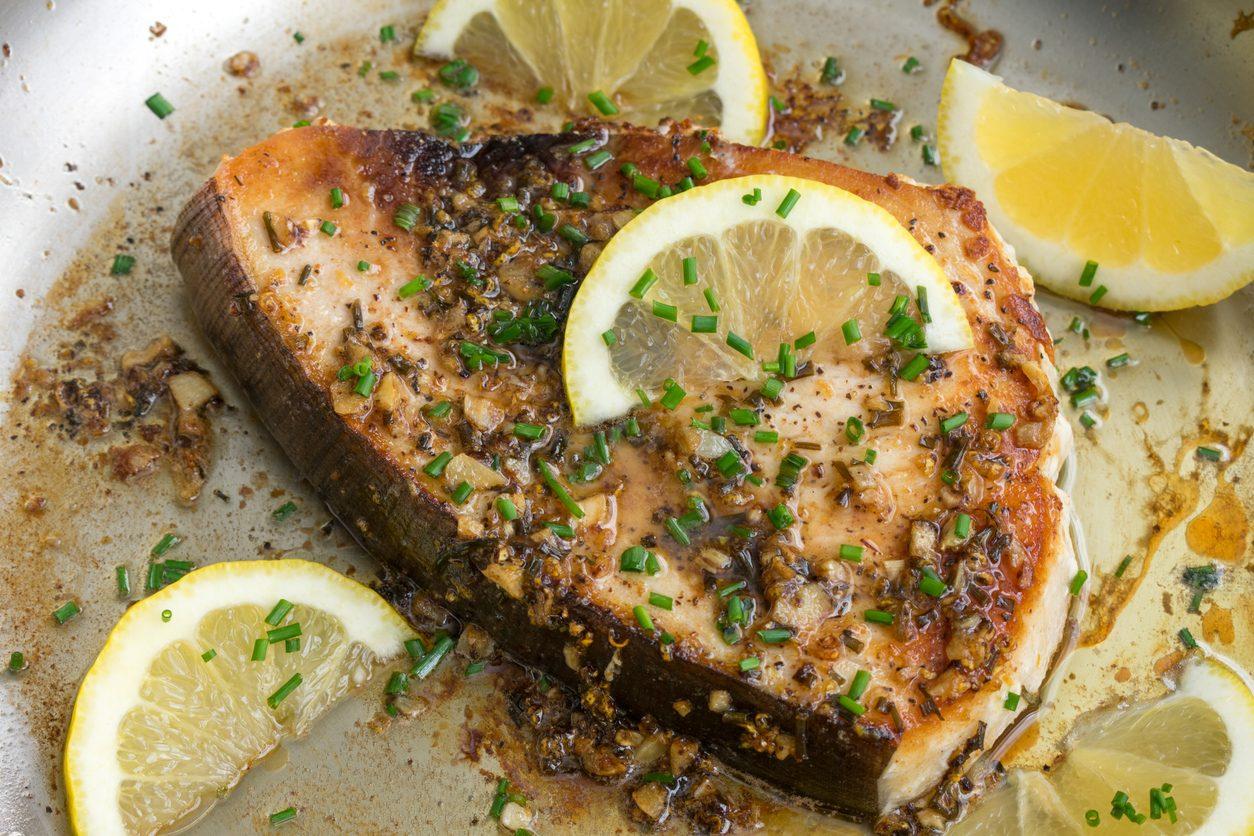 Pesce spada alla blanche e limone