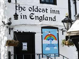 A Nottingham il pub più antico d'Inghilterra!