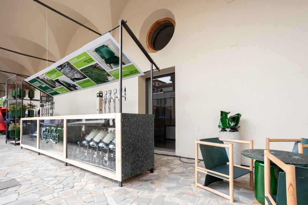 Carlsberg Italia è Official Beer Partner di RoGuiltlessplastic 2021