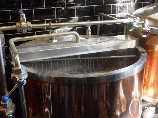 Macchine ed impianti della birra: tino di filtrazione