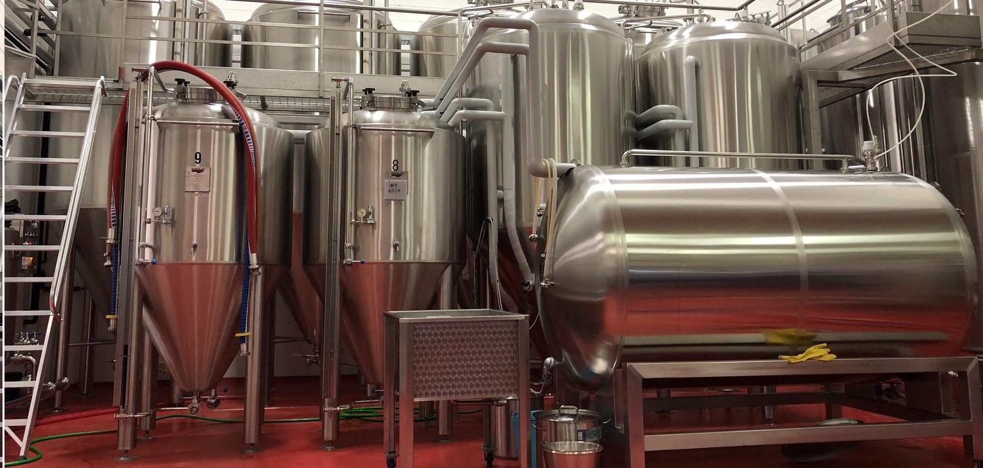 Macchine ed impianti della birra: Tini di fermentazione